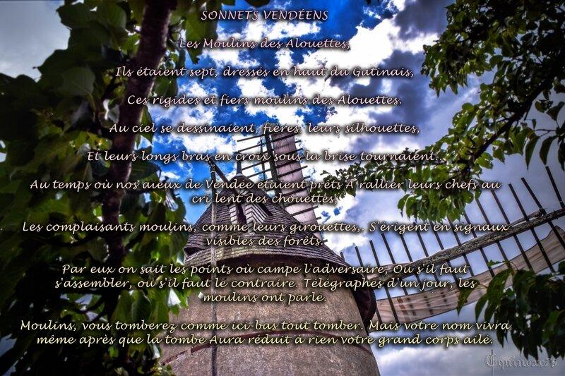 SONNETS VENDÉENS Les Moulins des Alouettes 2