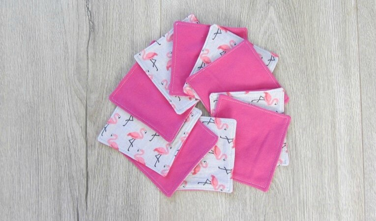 lingettes flamands rose 7