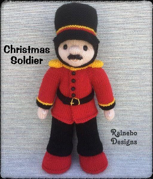 Traduction Christmas Soldier Doll - Lorraine Pistorio