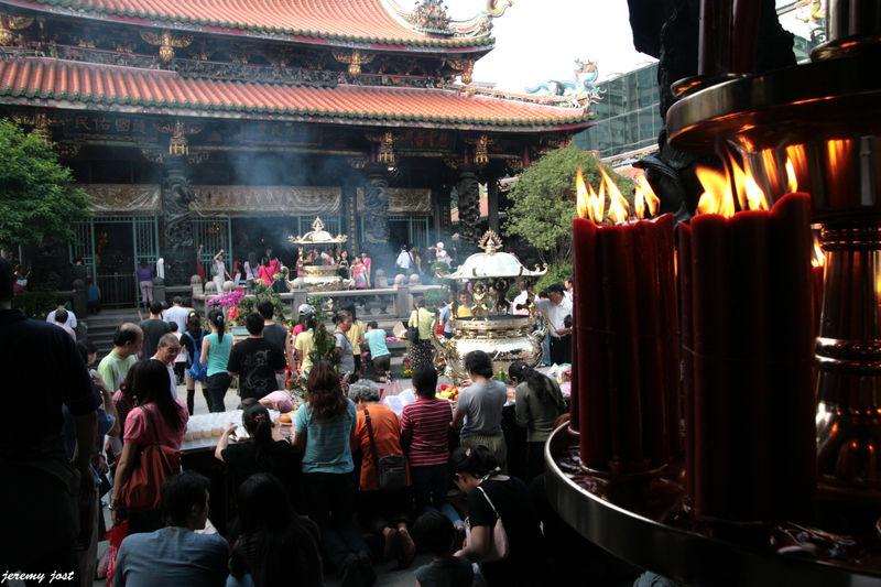 priere au temple