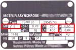 Plaque-signalétique 220V/380V Technic-achat