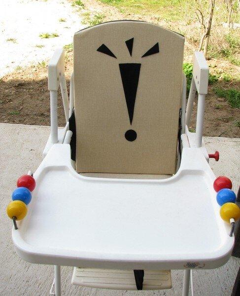 Nouvelle housse pour chaise haute bébé