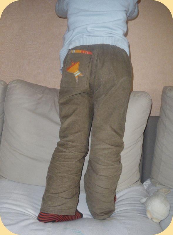 Pantalon Intemporels 4ans modifié