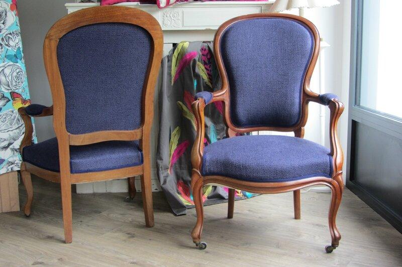 restaurer un fauteuil côté sièges
