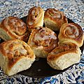 Cinnamon and apple rolls