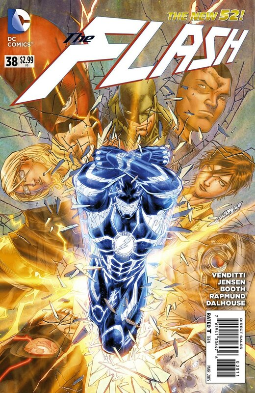 new 52 flash 38