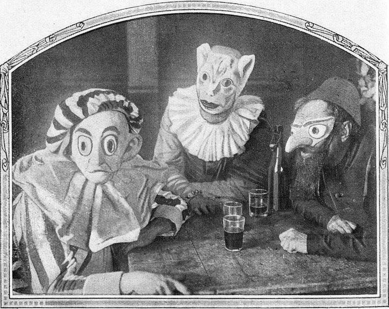 1921 Les Trois Masques