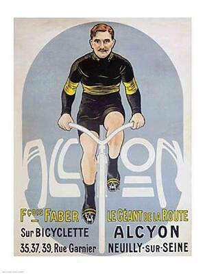 Affiche François Faber Alcyon