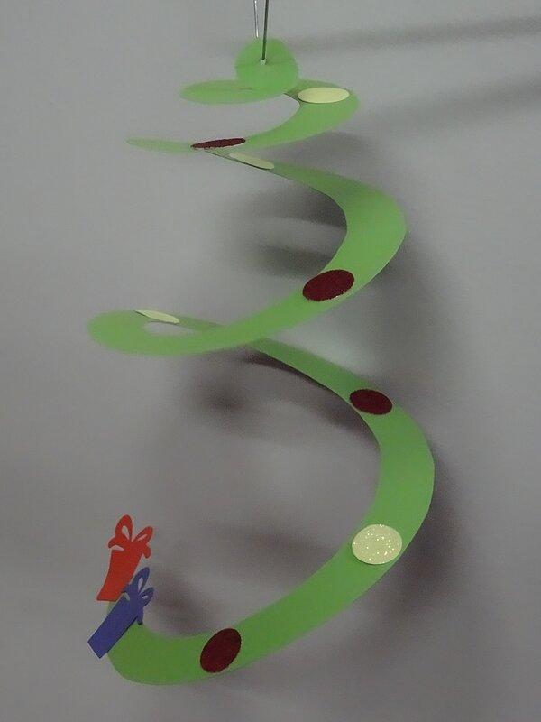 sapin spirale