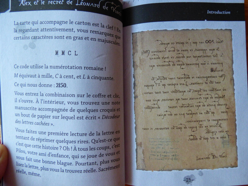 Alex et le secret de Léonard de Vinci (2)