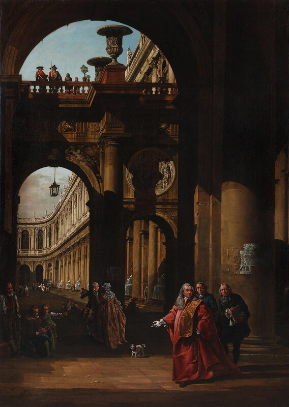 Bellotto_Architectural Capriccio