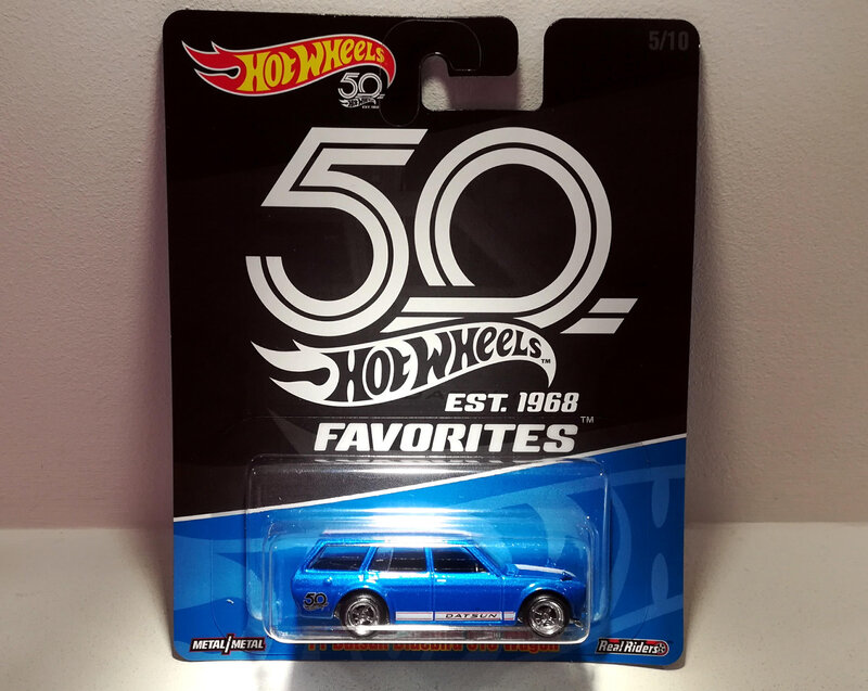 Datsun Bluebird Wagon de 1971 (Hotwheels Favorites)
