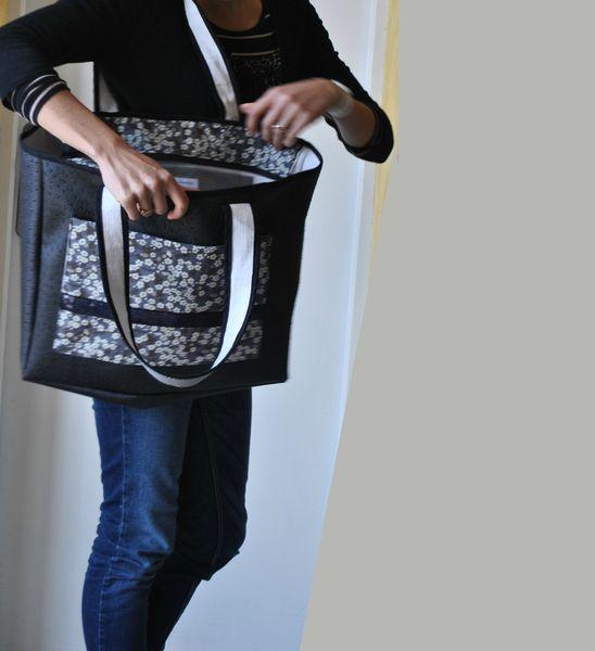 Grand sac Autruche porté (7)