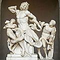 Mon top 10 sculptures antiques dans les musées: n°3: le laocoon (musées du vatican, rome)