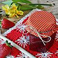 Confiture de fraises : recette de nad