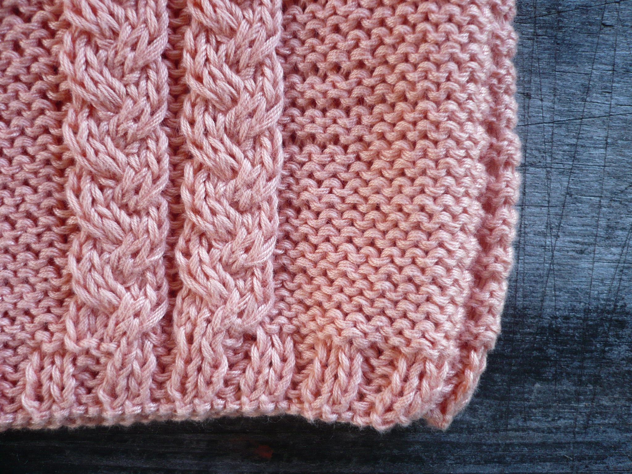 Fil De Peche Rose défi fil rose 1/3 : le pull rose pêche - les fils de minerve