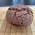 Muffin super léger aux chocolats