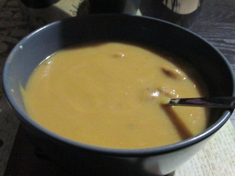 soupe-châtaigne-courge-lentille
