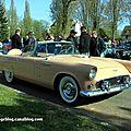 Ford thunderbird avec continental kit de 1956 (Retrorencard avril 2012) 01