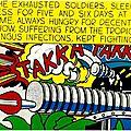 POP ART 1962_Takka Takka_Roy Lichenstein