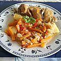 Marmite de lapin créole épicé aux légumes