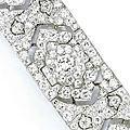 Diamond bracelet, cartier, paris