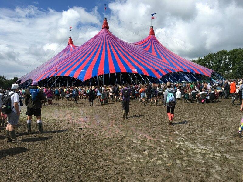 John Peel Stage Glastonbury festival 2016 marquee chapiteau