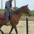 Jeux équestres manchots - parcours de pleine nature après-midi (77)