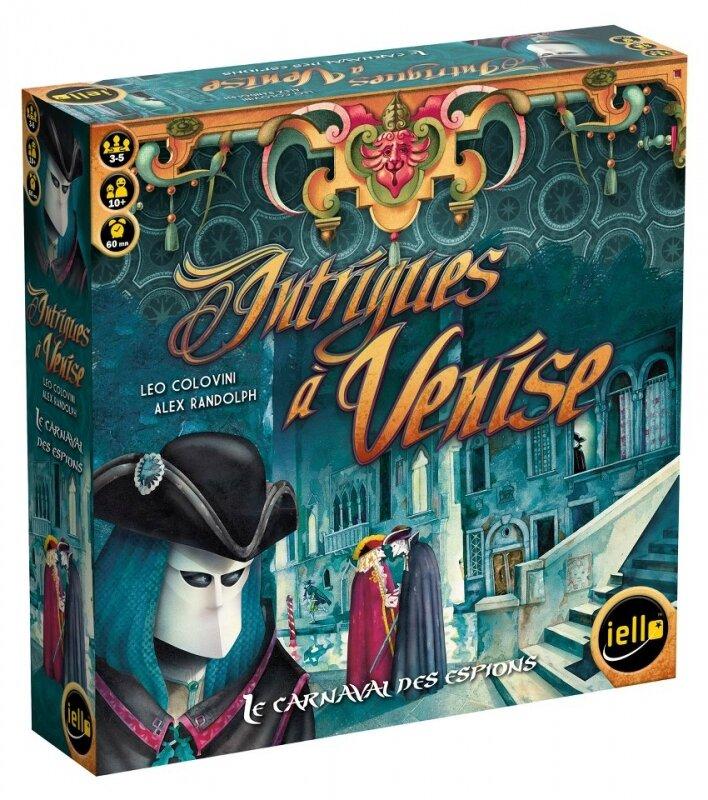 Boutique jeux de société - Pontivy - morbihan - ludis factory - Intrigues à Venise