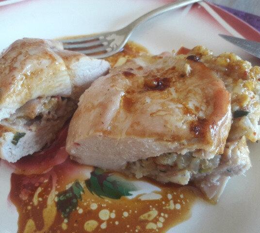 filet de poulet farci à l'italienne (2)