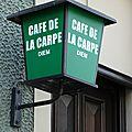 Cafe de la carpe diem ronce renaix belgique devanture