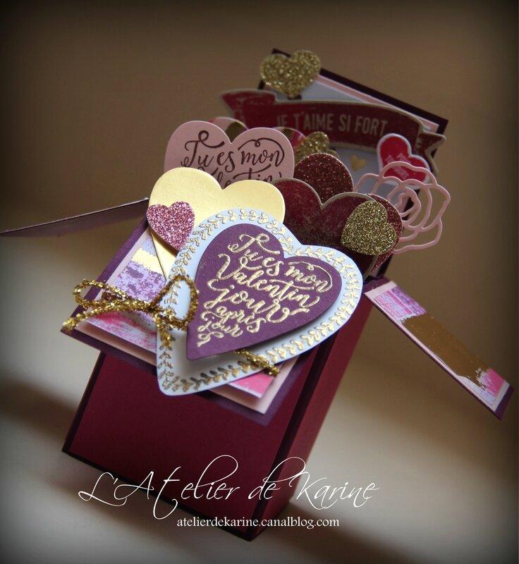 Carte Saint Valentin - Je t'aime si Fort 8