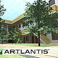 Logements Aubervilliers PROJET 1 - Live Buildings Artlantis
