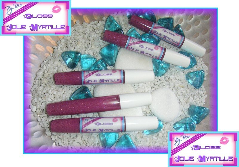 Gloss Jolie Myrtille