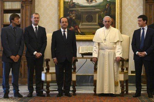 Hulot-Hollande-Valls-Pape