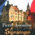 Sigmaringen, roman par pierre assouline
