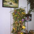 Peinture et fleurs...