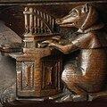 Le cochon joueur d'orgue