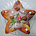 Gâteau aux poires / confiture de lait bio, renversé