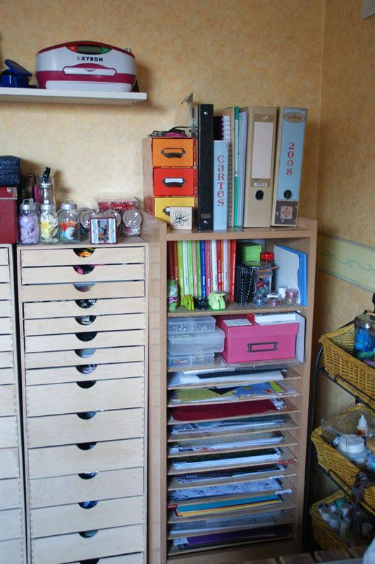 Meuble Pour Ranger Mes Papiers Photo De Scraproom Scrapamine