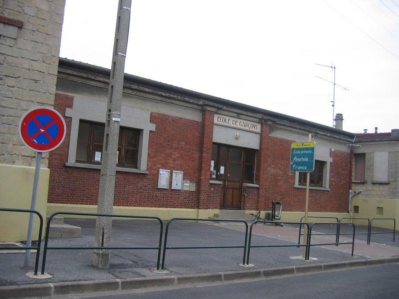 école primaire rue Anatole France