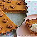 Pumpkin pie, tarte au potiron de thanksgiving day...