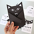 {printable} carte halloween à imprimer - diy