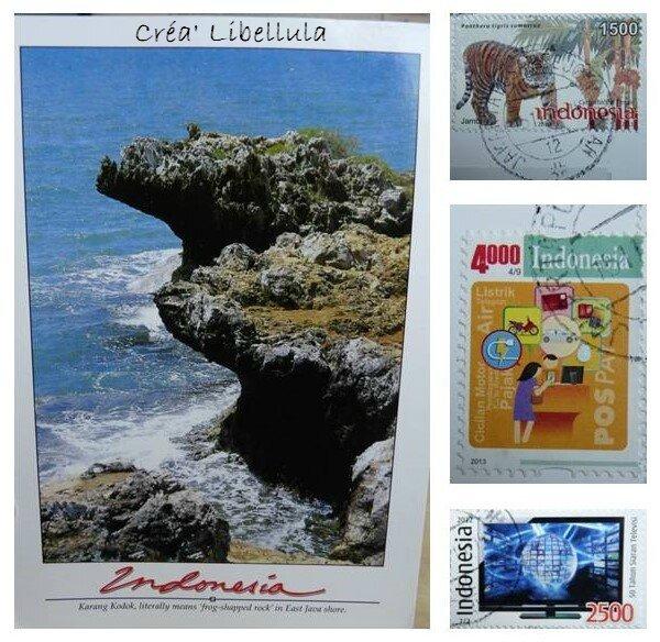 Postcrossing - Indonésie