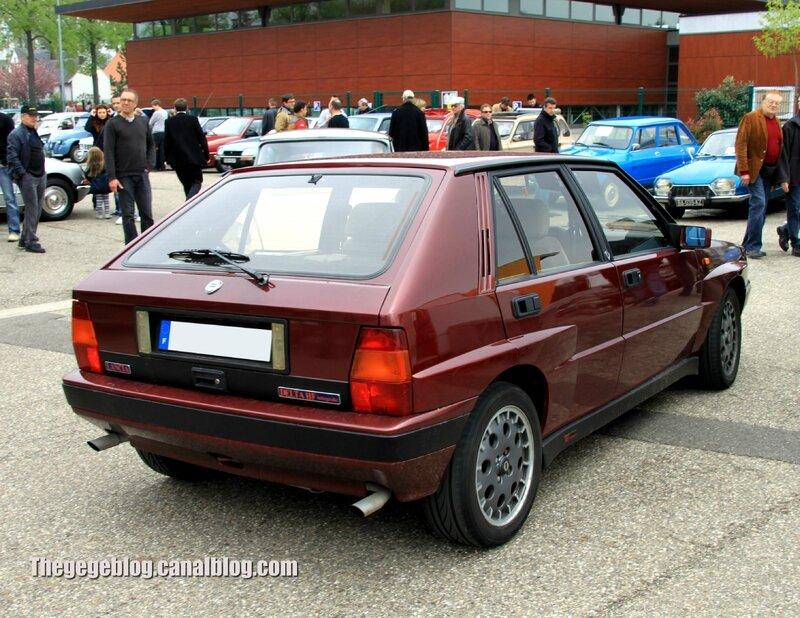 Lancia delta HF integrale (Rencontre de véhicules anciens à Achenheim 2013) 02