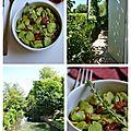 Salade de fèves1