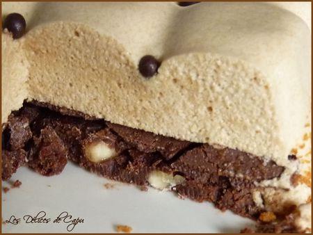Bavarois spéculoos Chocolat2