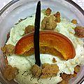 Verrines gourmandes à l'abricot sans oeufs