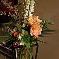 Art floral,bouquet tigé