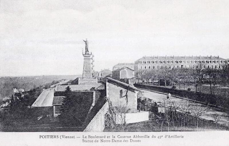 caserne du 49e d'Artillerie à Poitiers